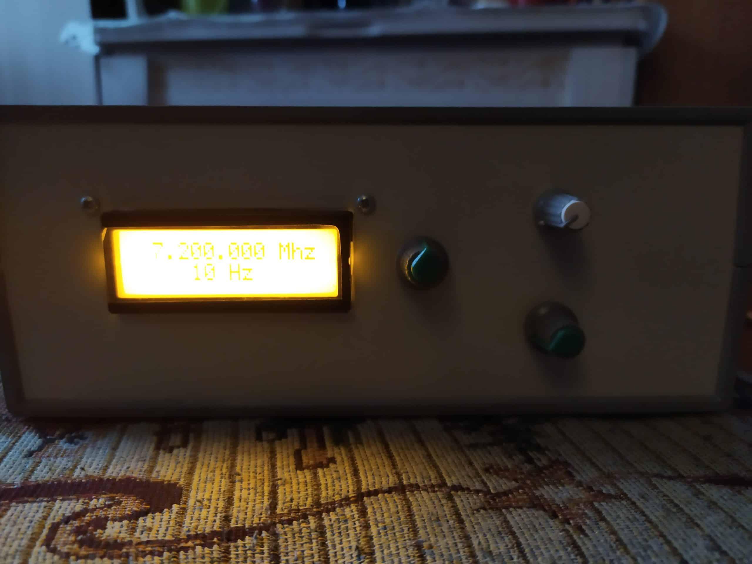 Синтезатор частоты в корпусе